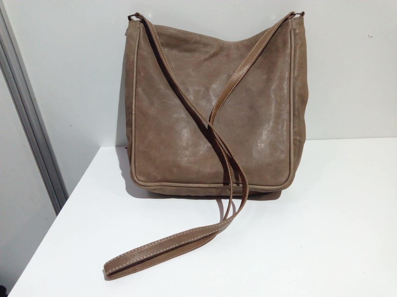 Shoulder bag  Brown, Grey Morocco