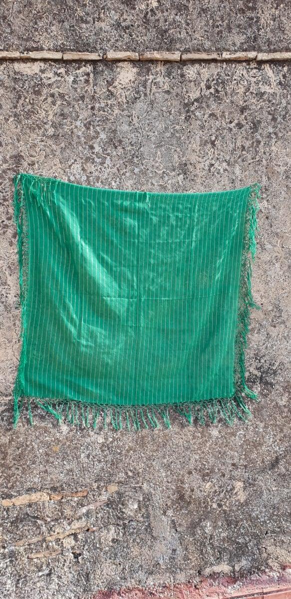 Scarf Cotton string Green Morocco