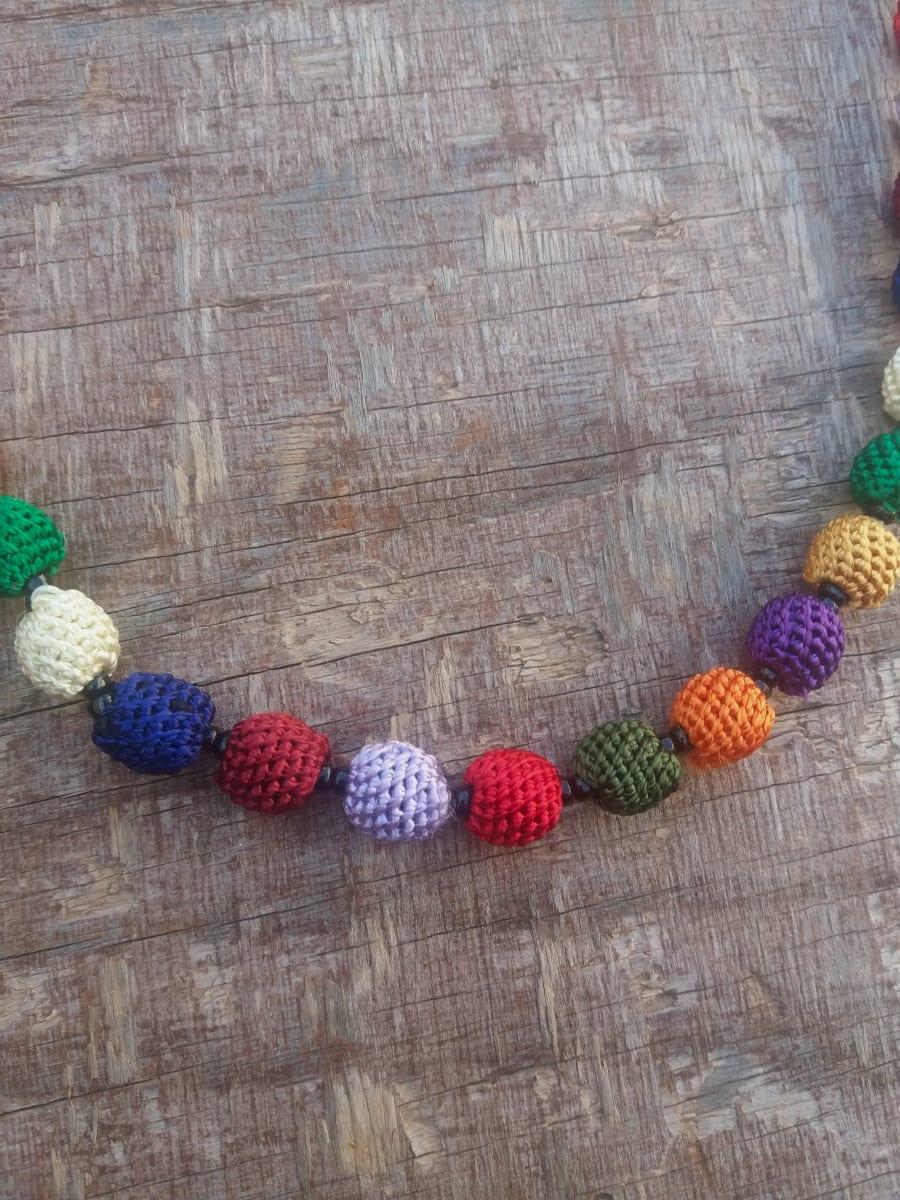 Necklace  Colored Morocco