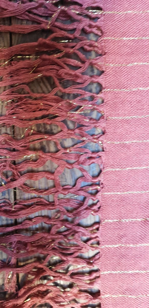 Scarf Cotton string Pink Morocco