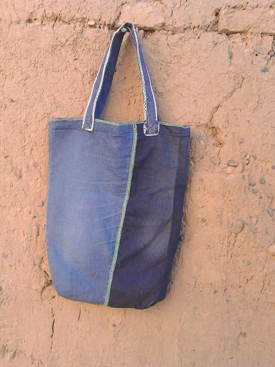 Side Bag  Colored Morocco