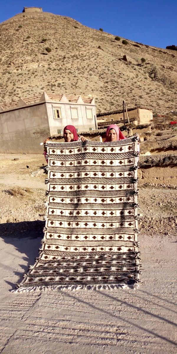 Beni Ourain  Brown, Black Morocco