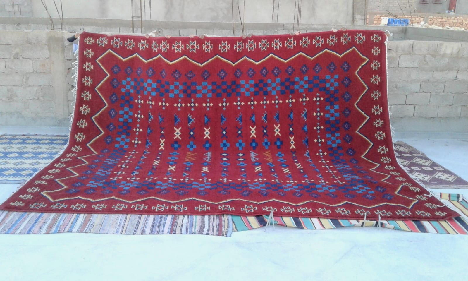 Zerbya Cotton String Colored Morocco