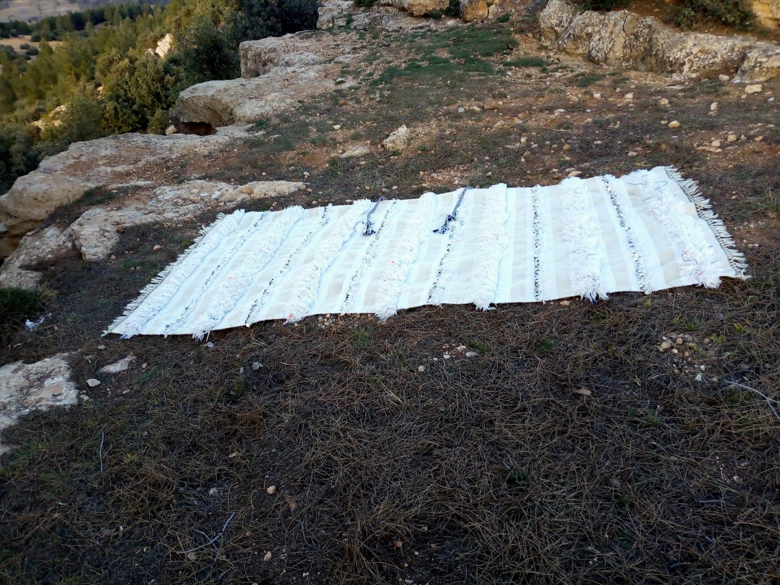 Wedding Blanket  Colored Morocco