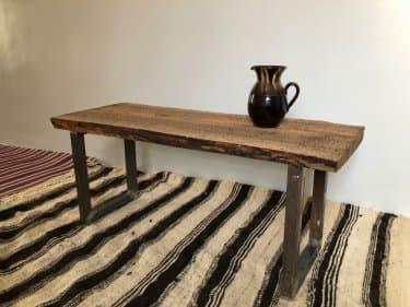 Wood Table Walnut Wood Brown Morocco