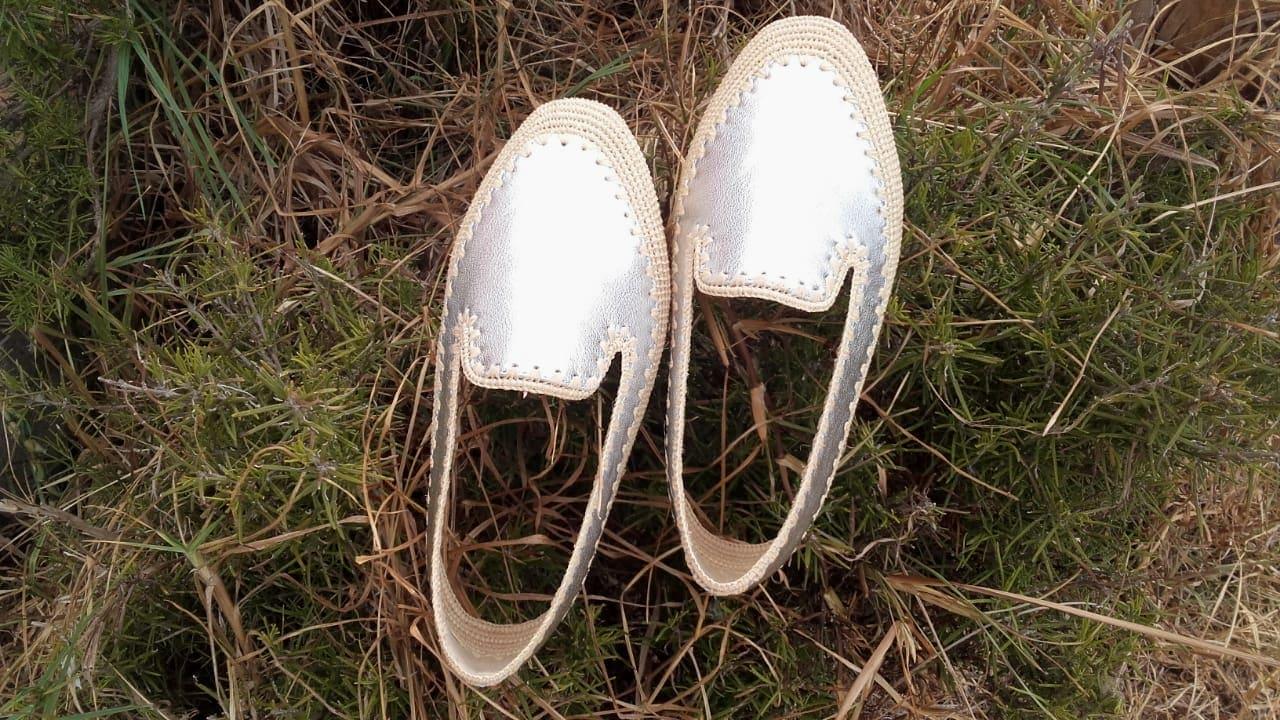 Boho Shoes  White Morocco