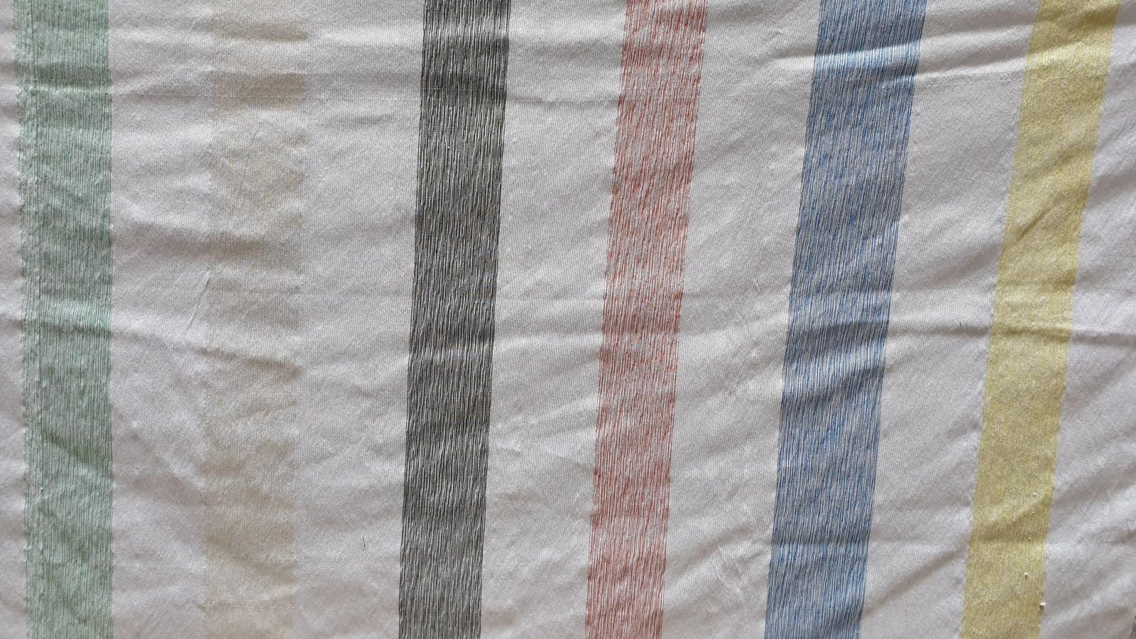 Fabric  Colored Morocco