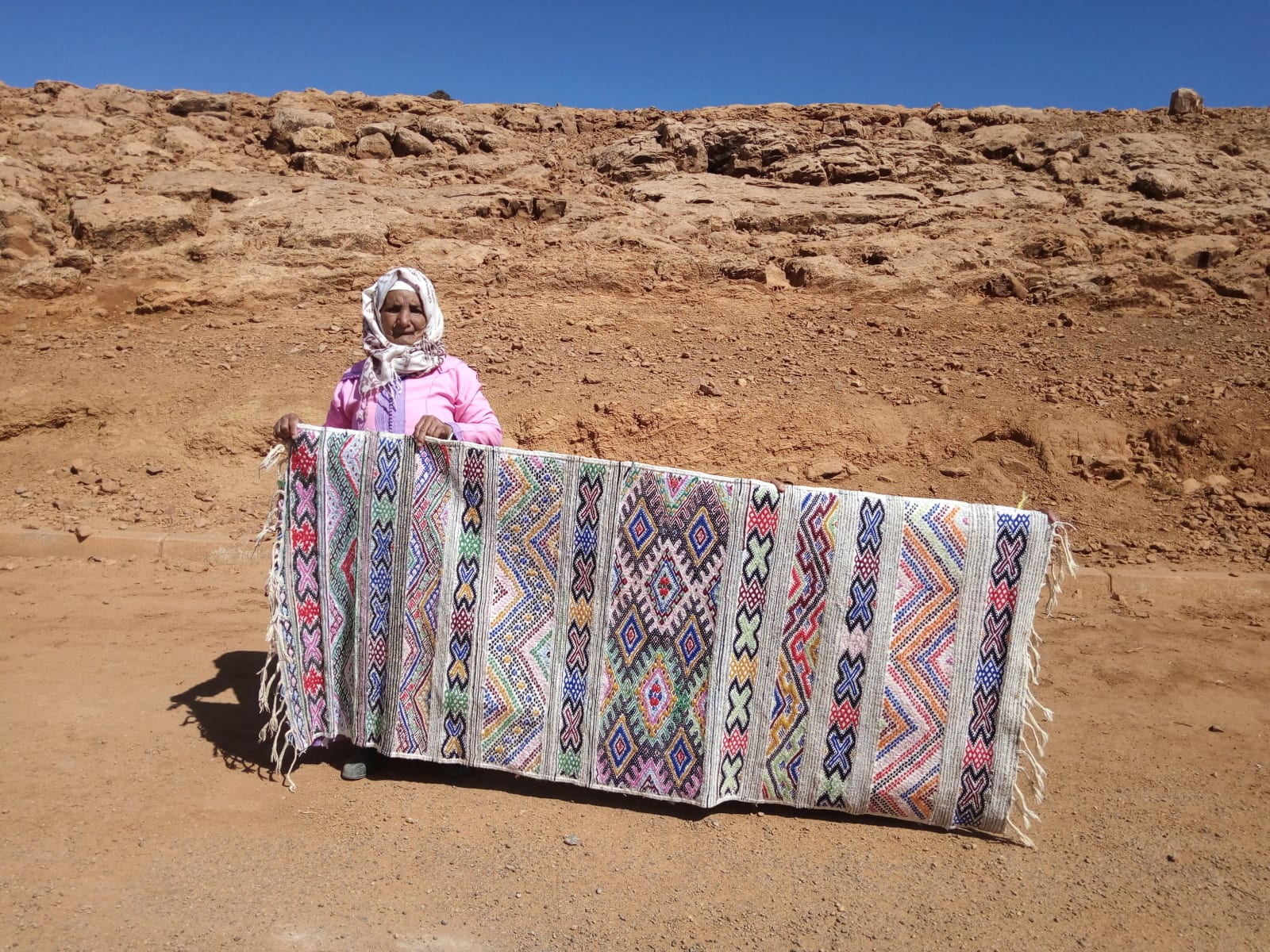 Hanbel Stroma and Lhdeb Colored Morocco