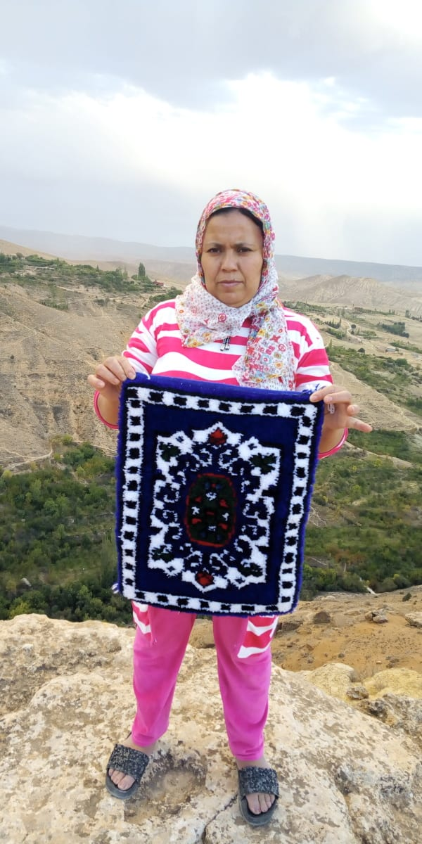 None the Warp Colored Morocco