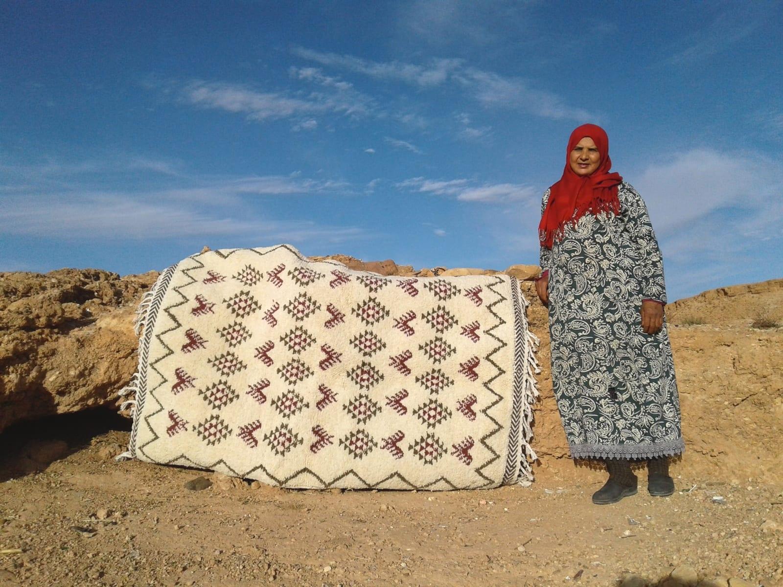 Zerbya  Red, Brown Morocco