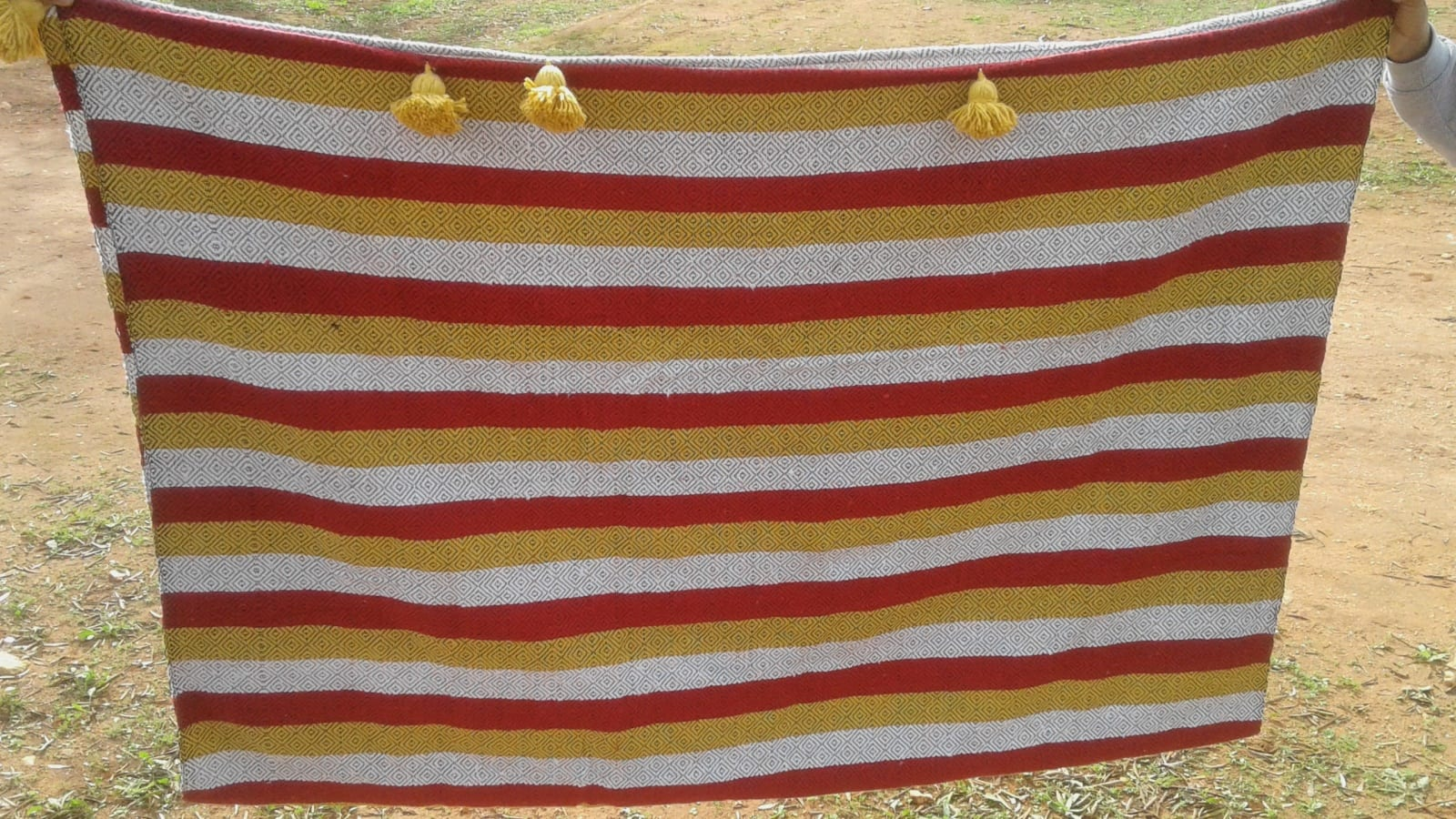 tawel  Red, Yellow Morocco