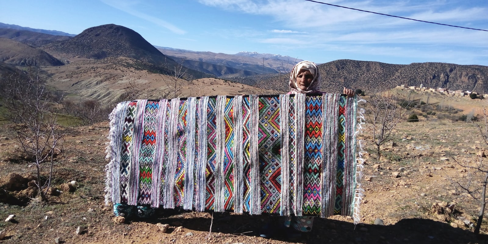 Hanbel Stroma, Lhdeb, and Wool Colored Morocco