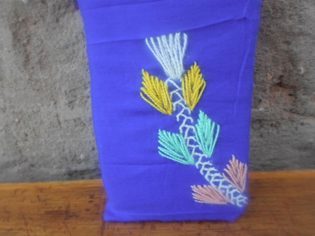 Tahroit Assorted Yarns Colored Morocco