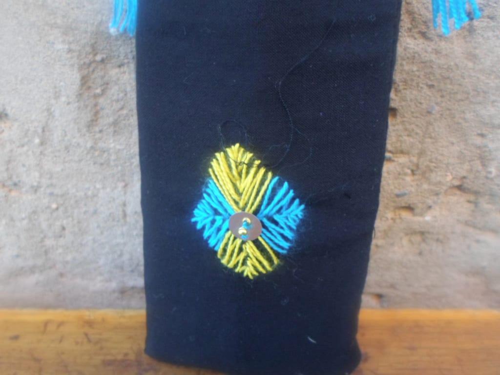 Tahroit  Light Blue, Yellow Morocco