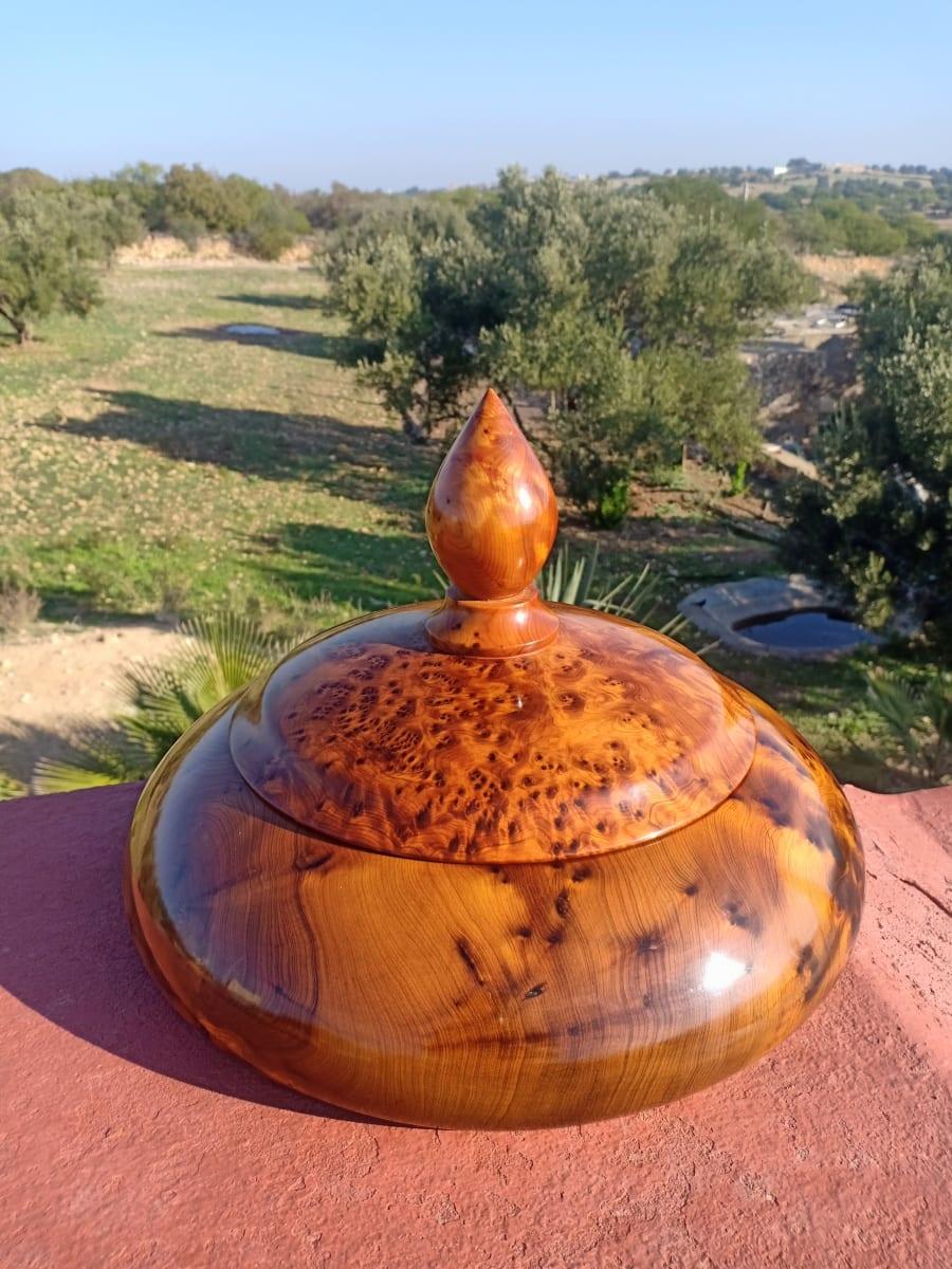 Incense  Box Juniper Root  White Morocco