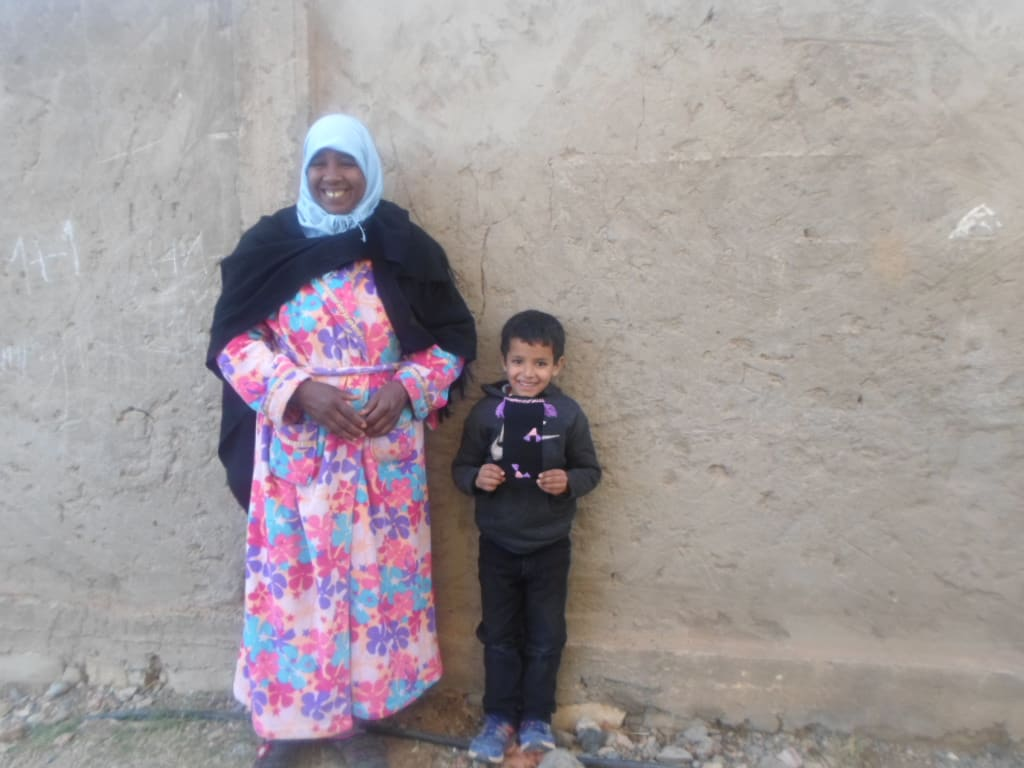 Tahroit Assorted Yarns Purple, Pink Morocco
