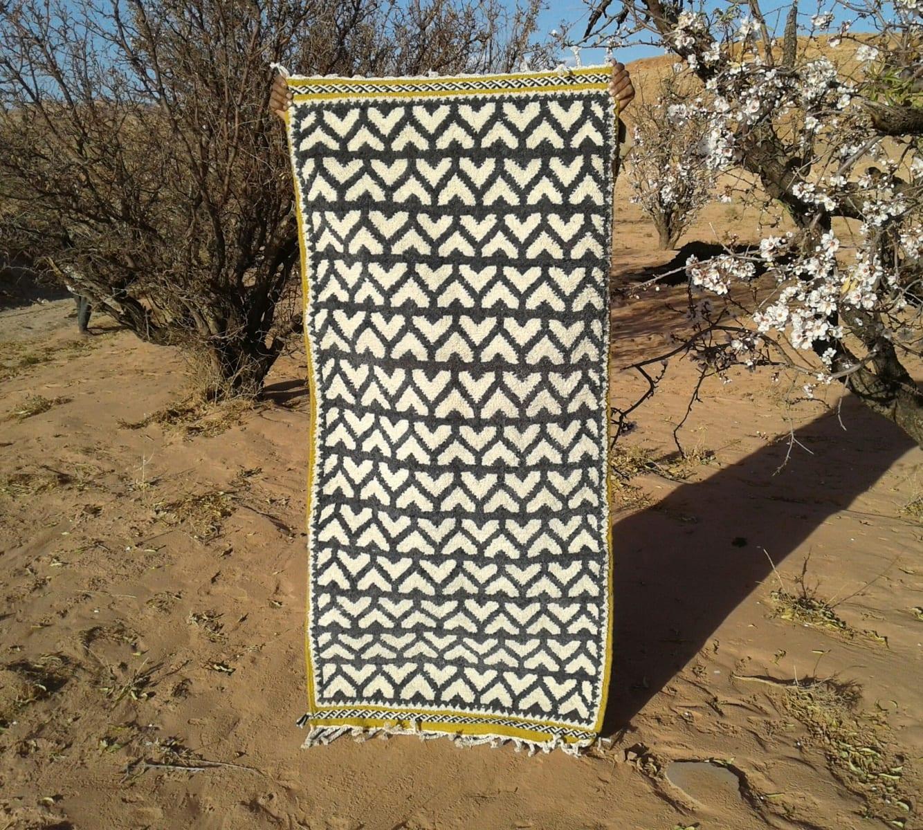 Zerbya  Blue, White Morocco