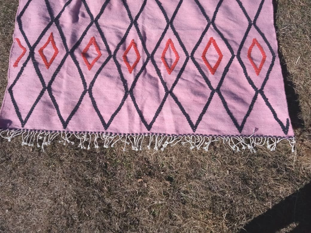 Hanbal  Red, Pink Morocco