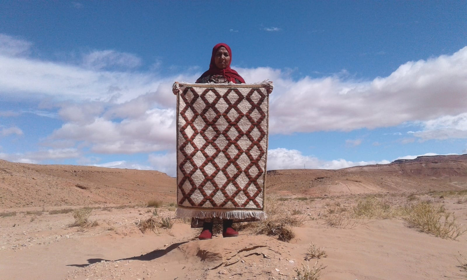 Zerbya  Red, Brown Morocco