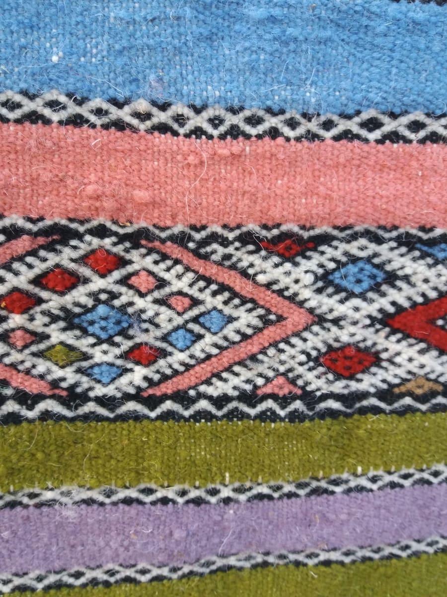 Flatweave  Colored Morocco
