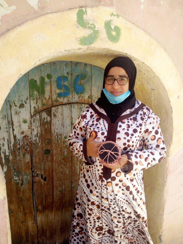 None  Pink, Black Morocco