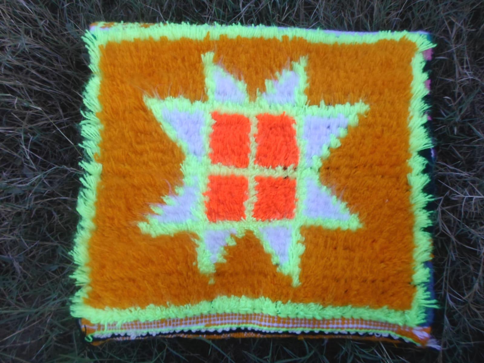 Decorative Pillow  Colored Morocco