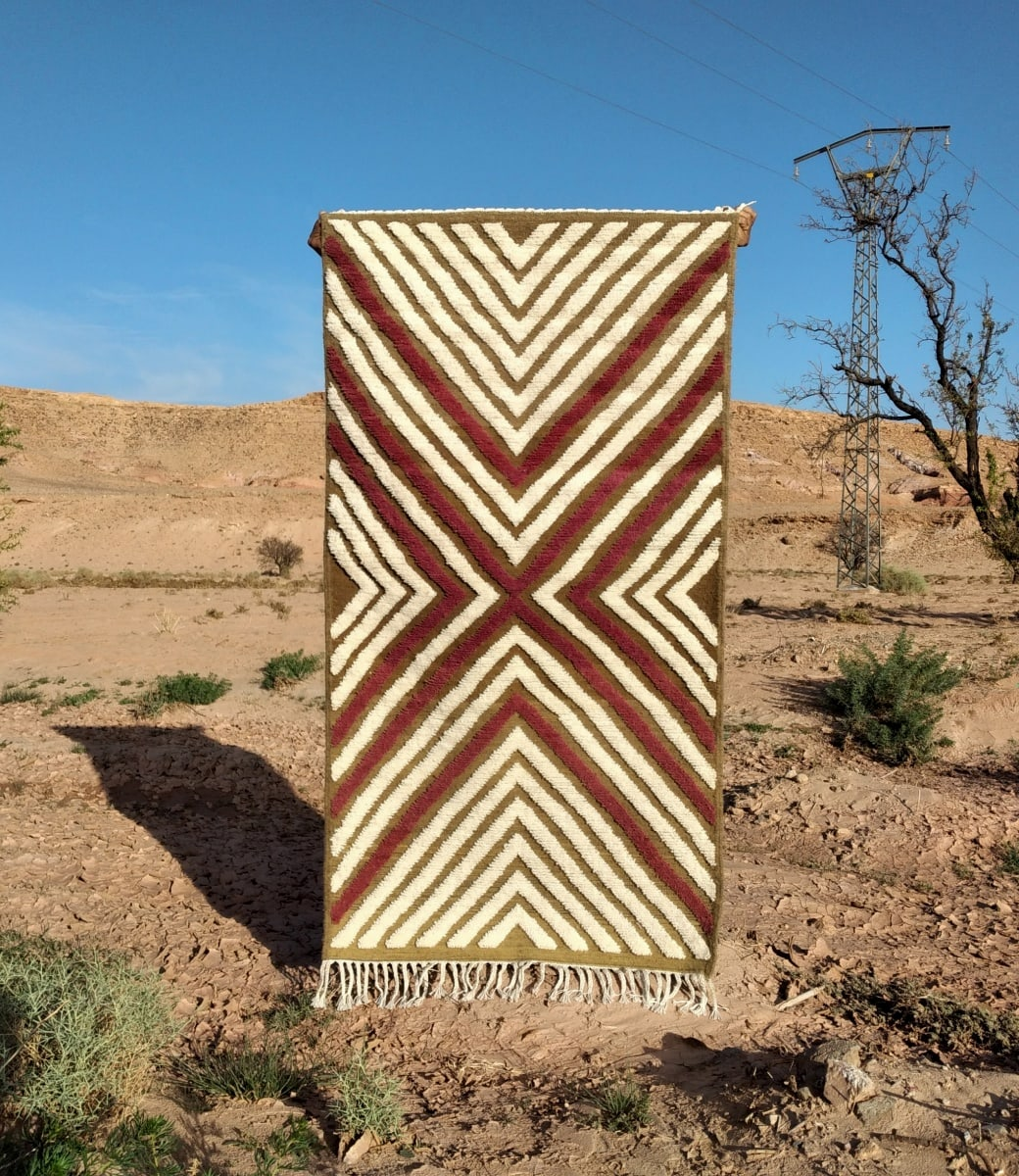 Hanbel  Red, Brown Morocco