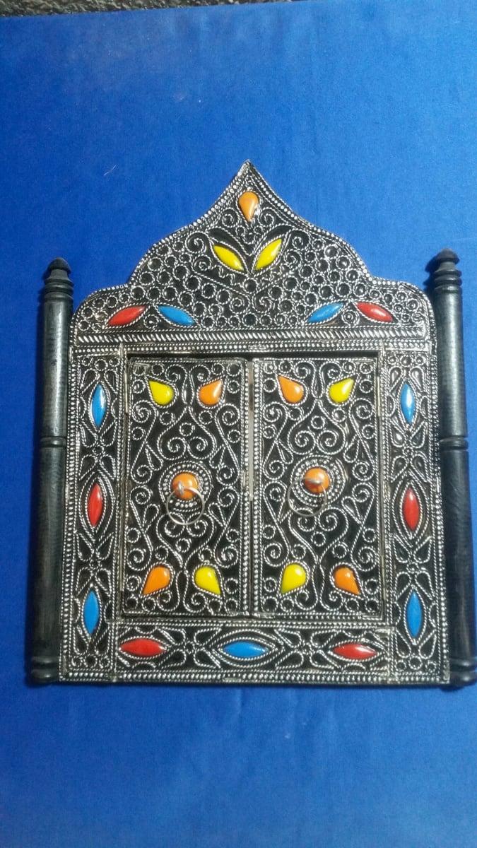 Mirror  Colored Morocco