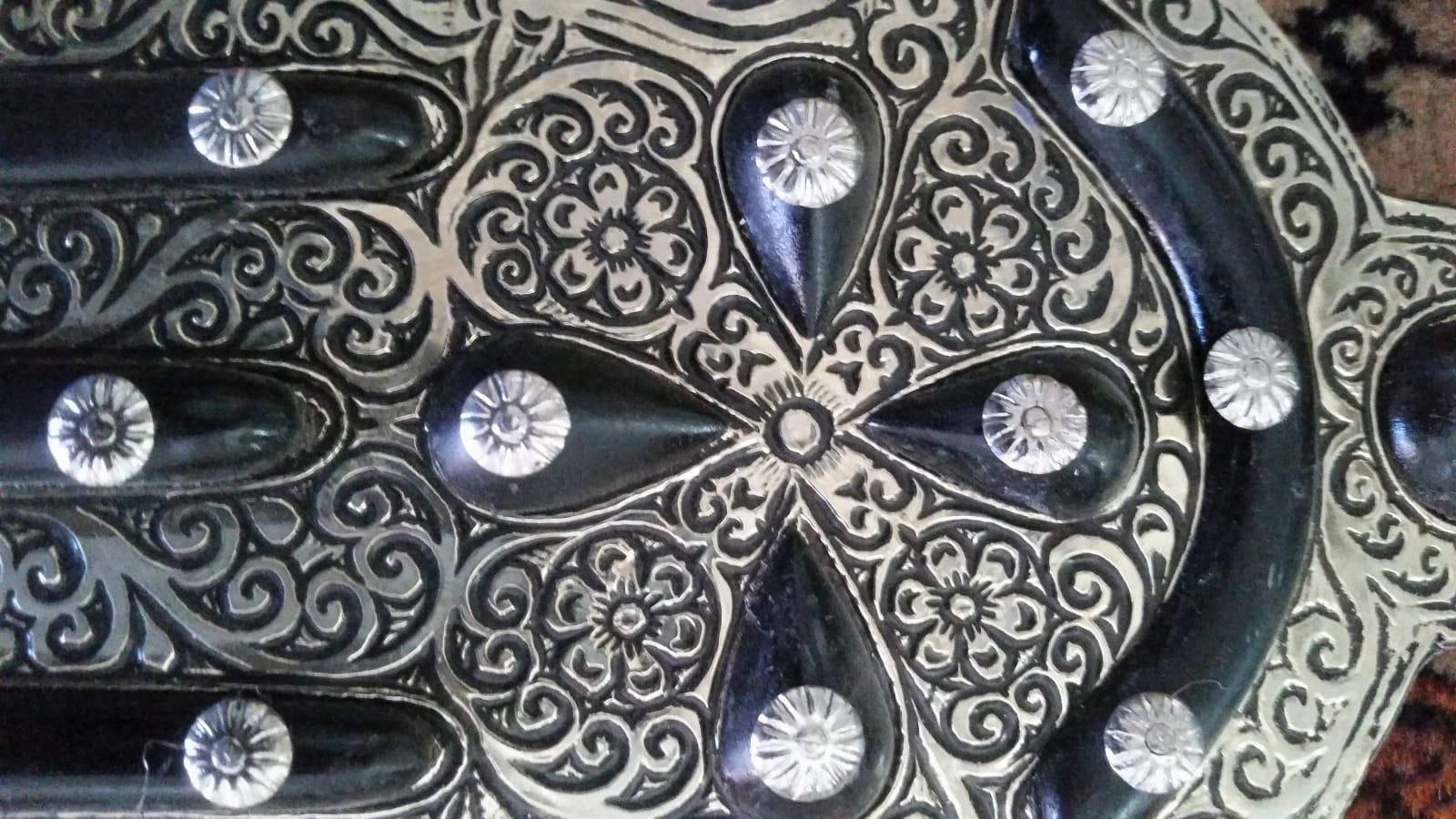Mirror  Black, White Morocco