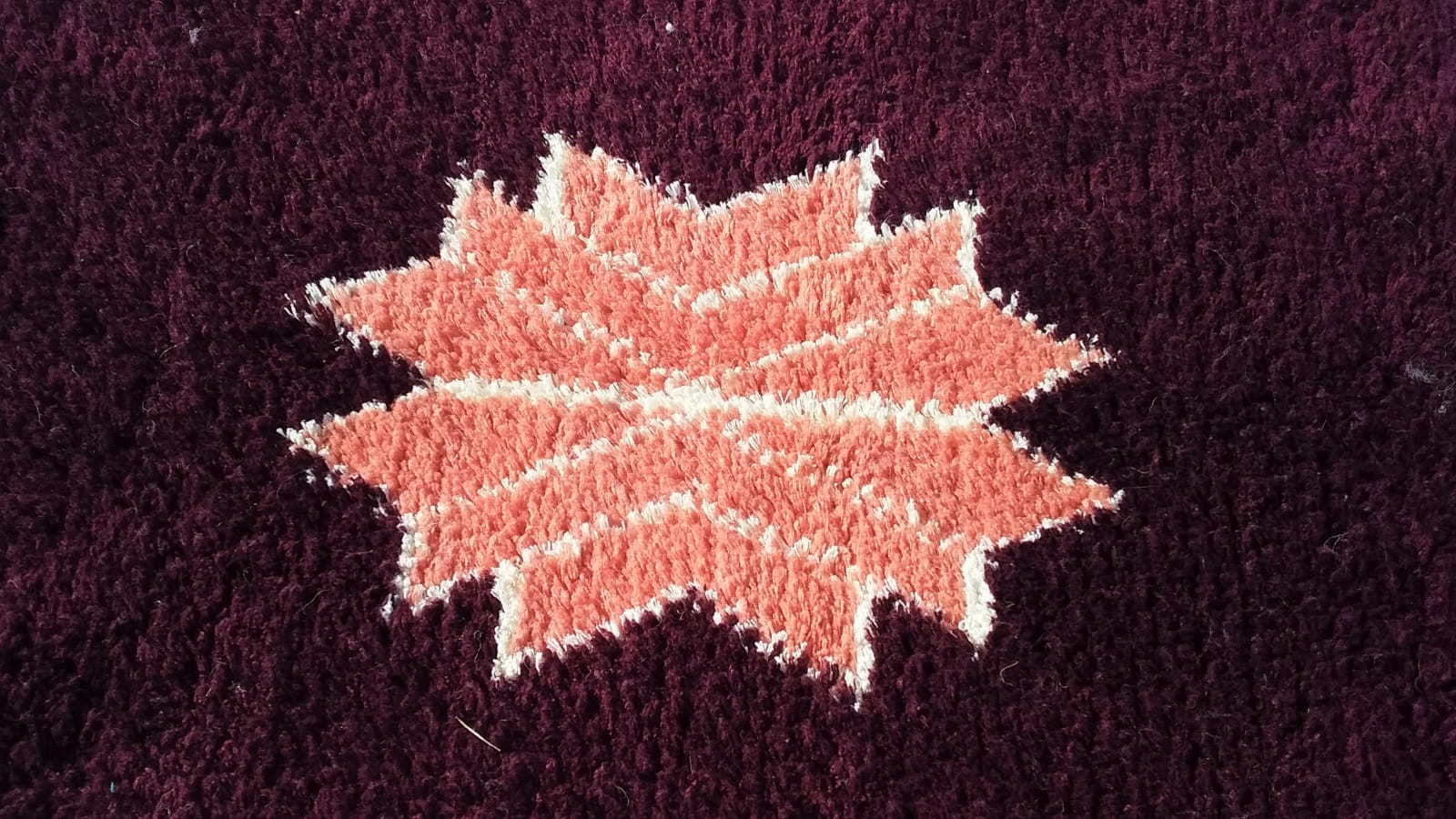 Hanbal rug  Pink, Black Morocco