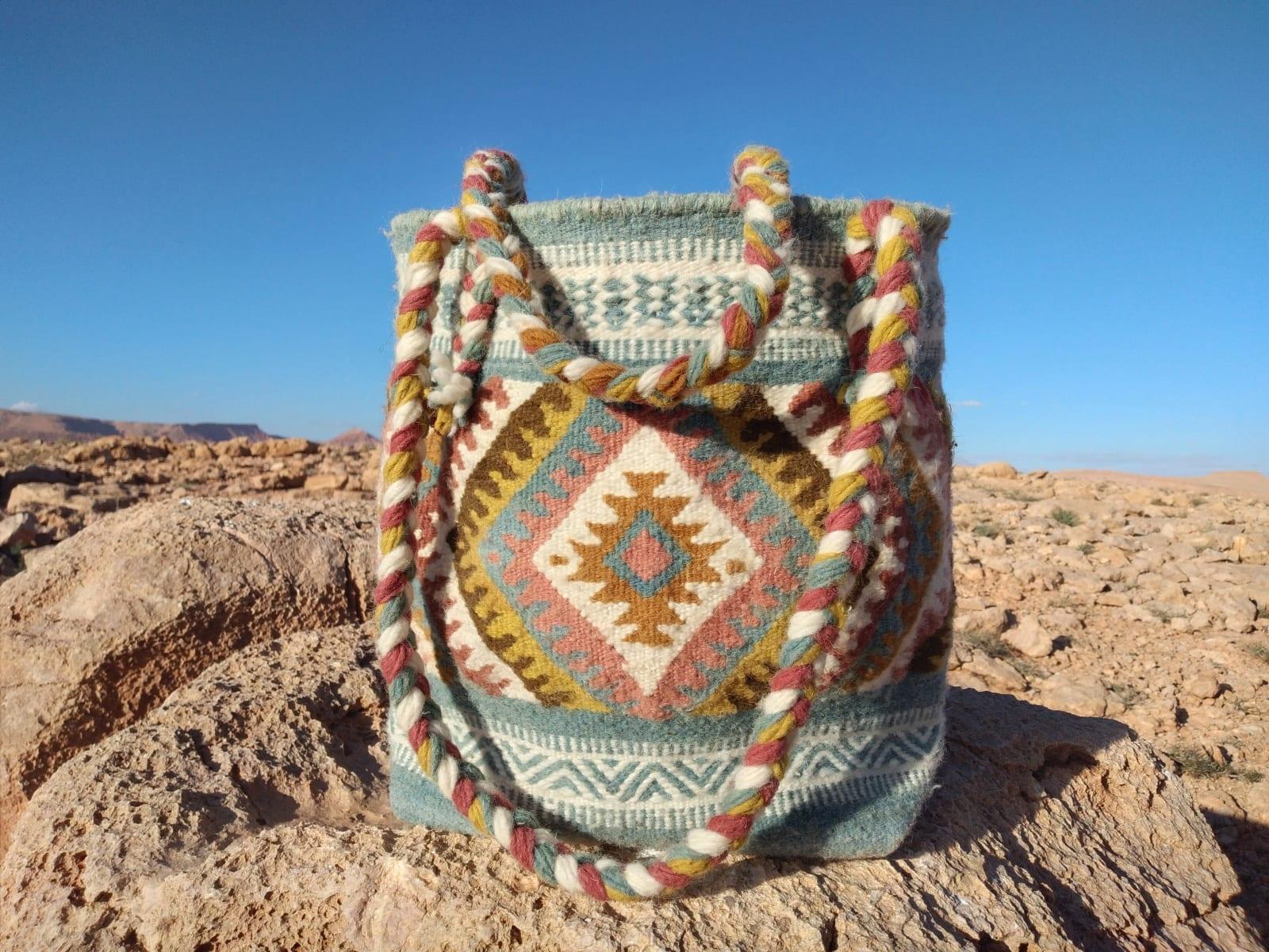 Bag  Colored Morocco