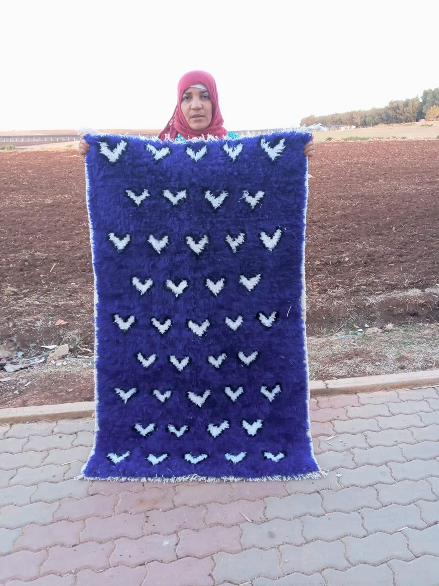 None  Blue, Black Morocco