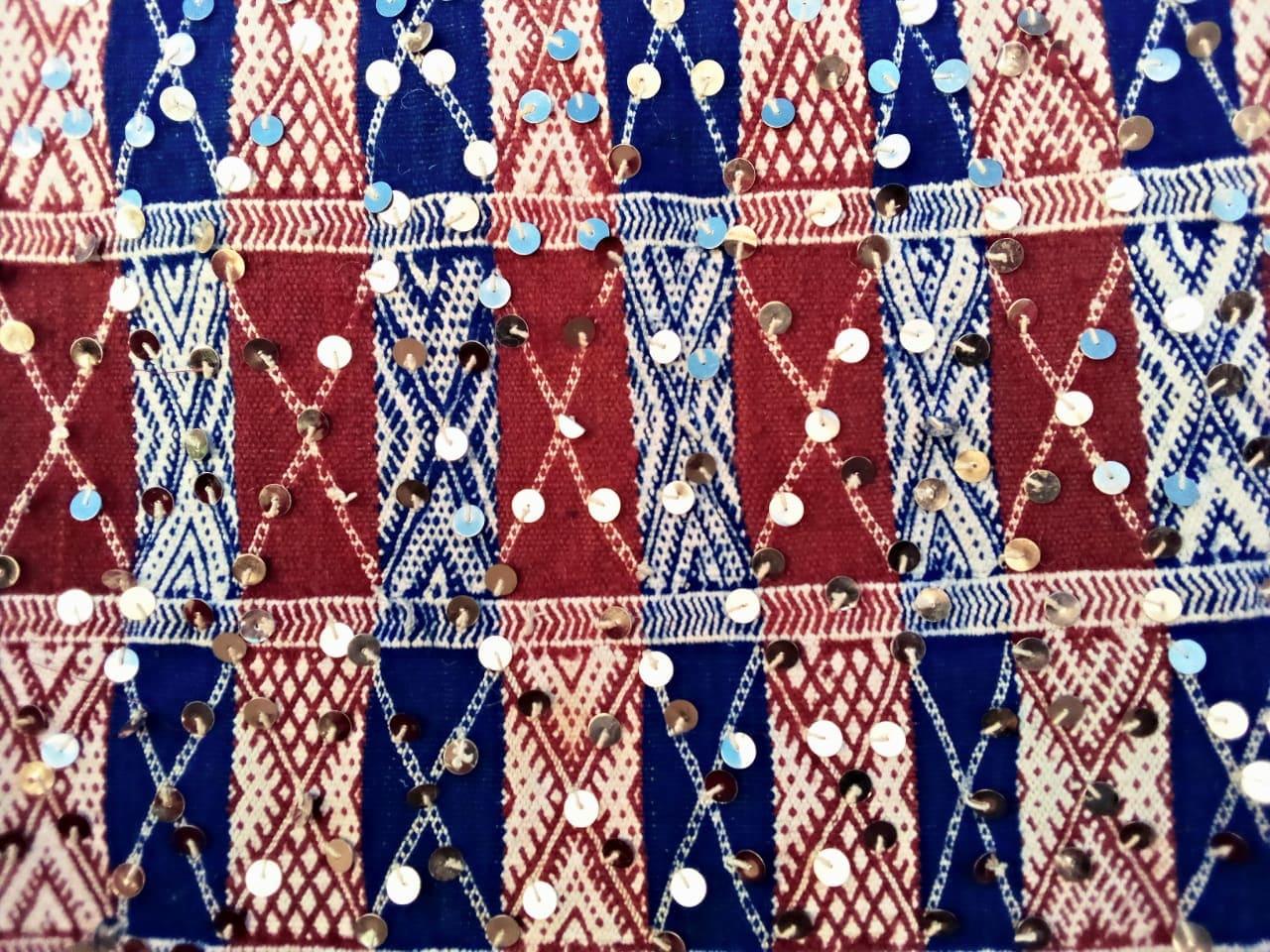 Hanbel Wool Red, Purple Morocco