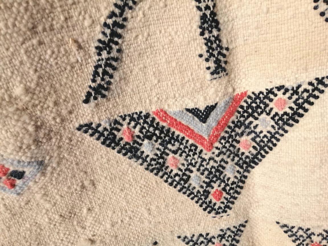 Btaniya Rug Wool and Dyed Wool Colored Morocco