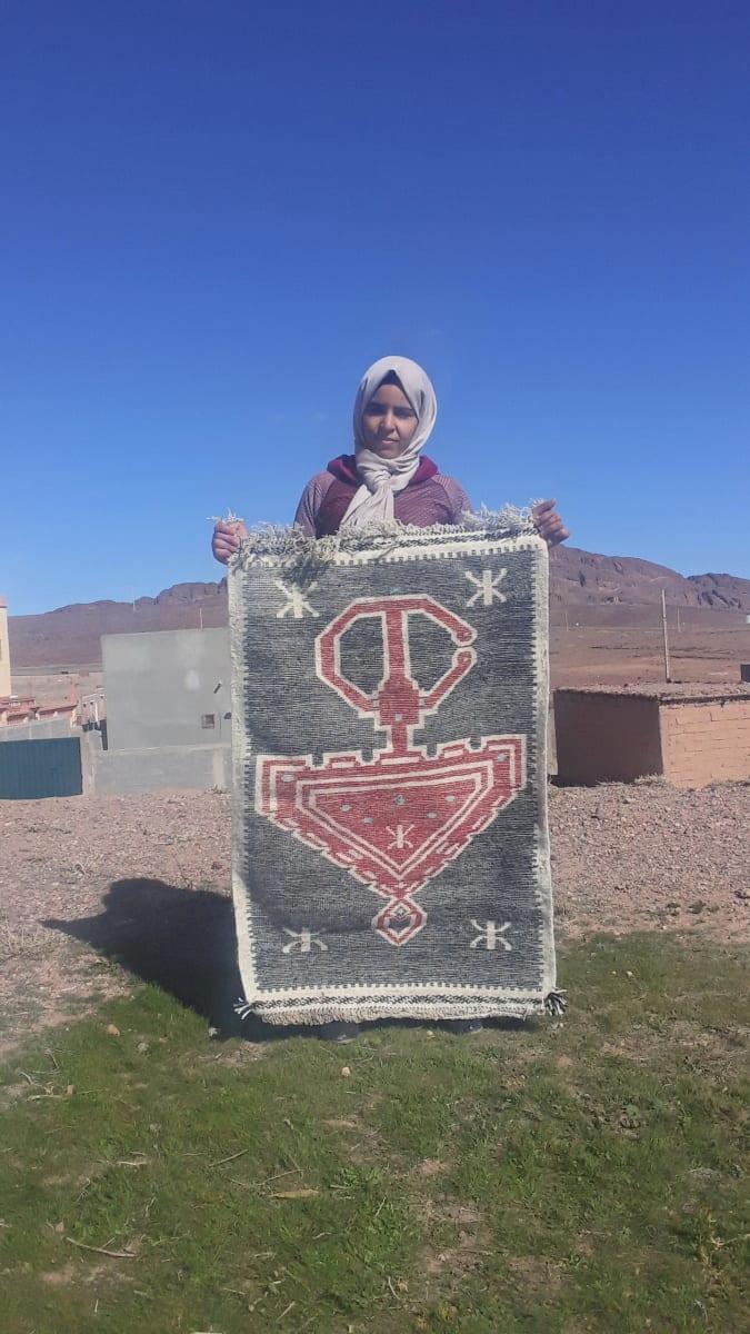 None  Red, Black Morocco