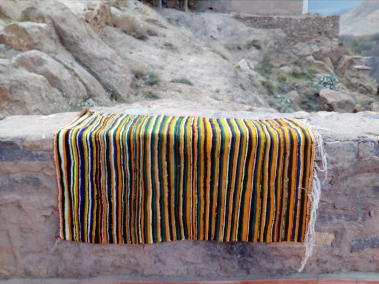 Felted Wool Rug
