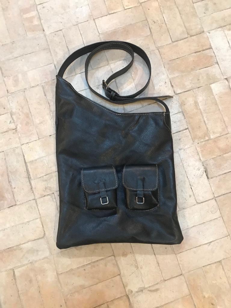 Shoulder bag  Black Morocco