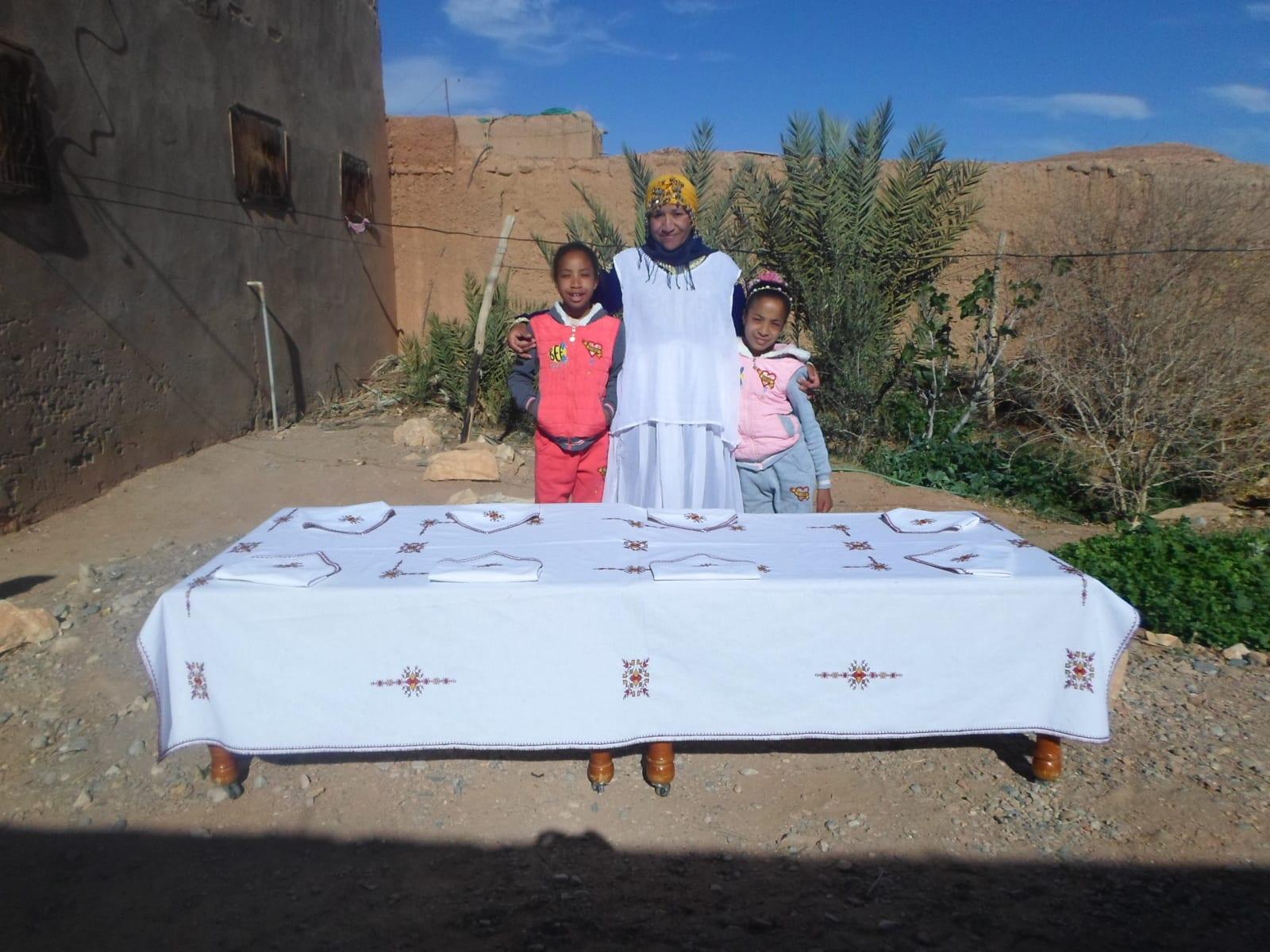 Tarz Fassi  Colored Morocco