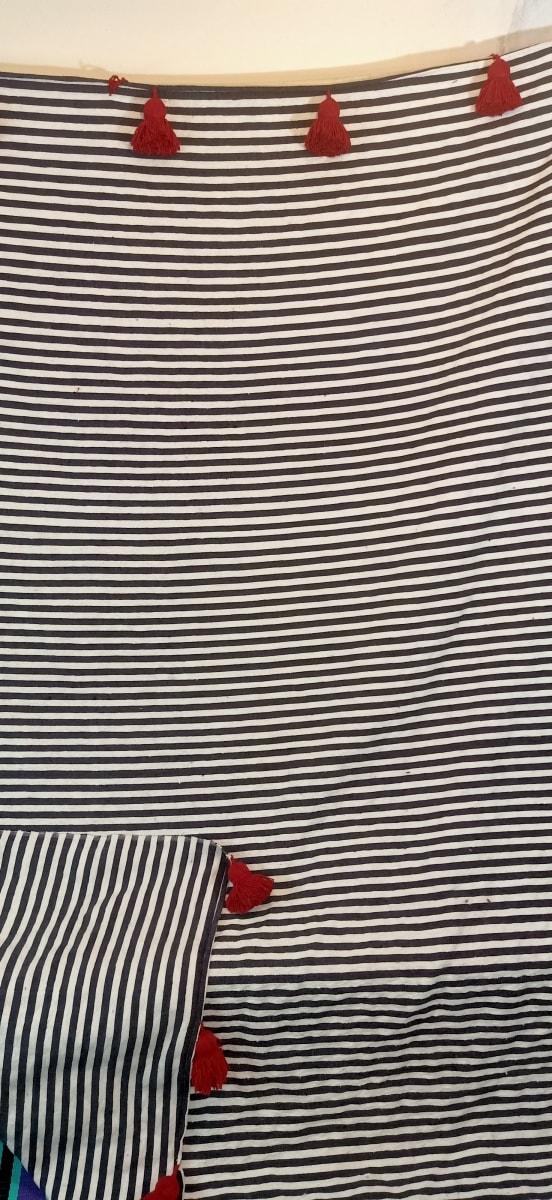 tawel  Red, Black Morocco