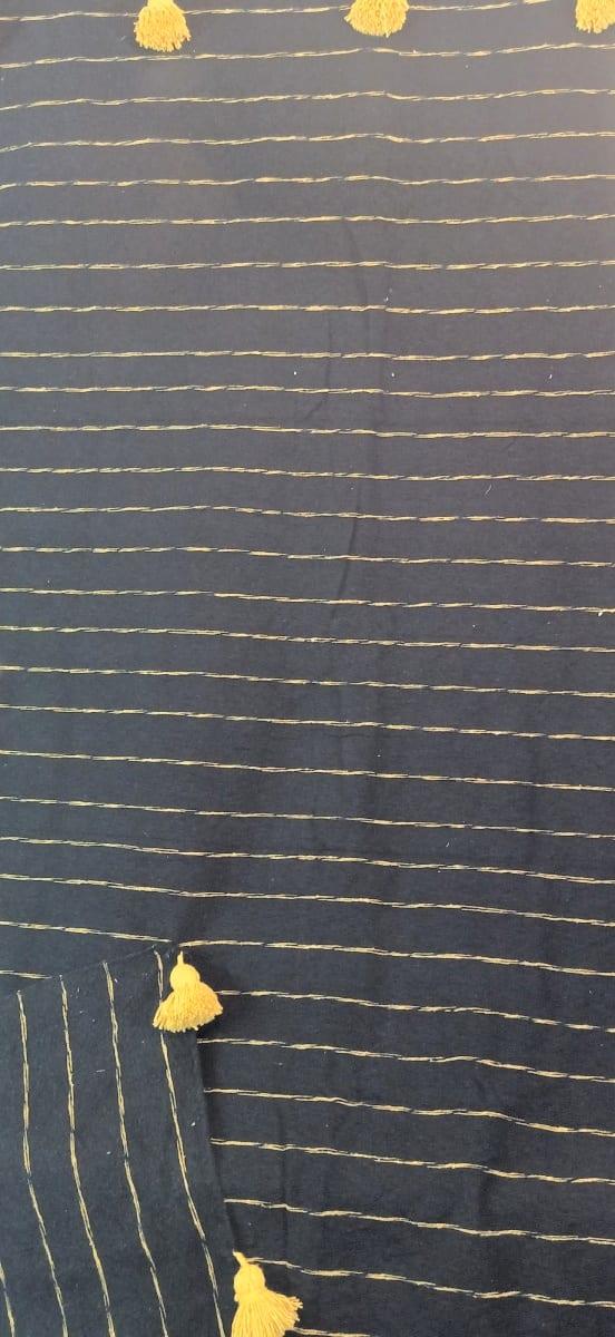 tawel  Yellow, Black Morocco