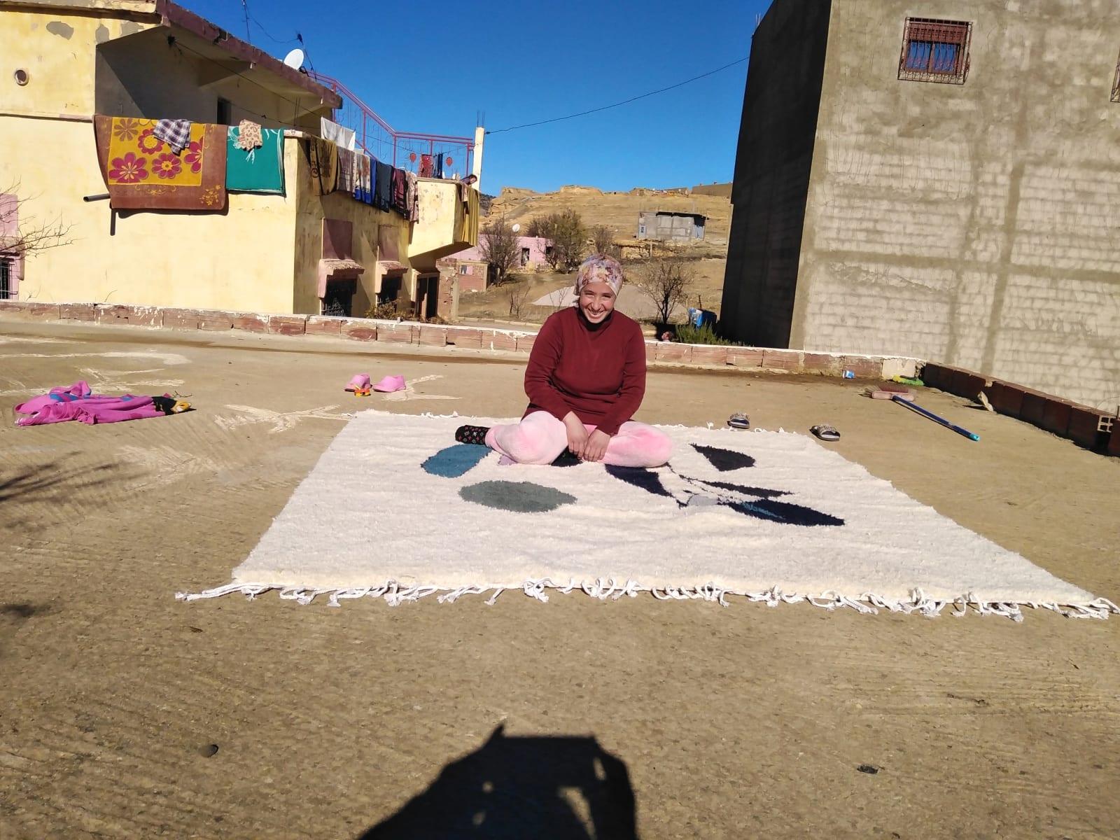 Pile Knot Stroma Colored Morocco