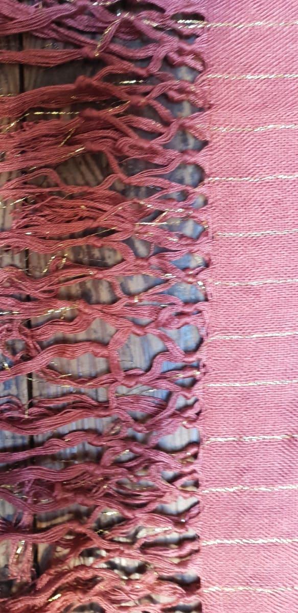 Scarf Cotton string Brown Morocco