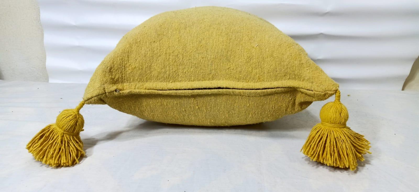 pillow  Yellow Morocco