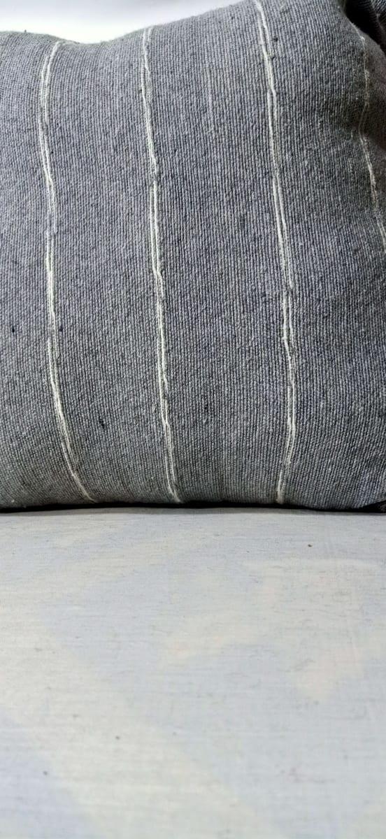 pillow  Pink, Grey Morocco