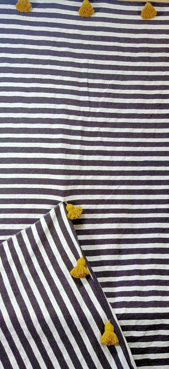 tawel  Yellow, Brown Morocco