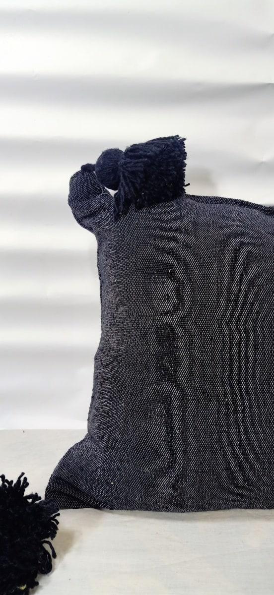 pillow  Black Morocco