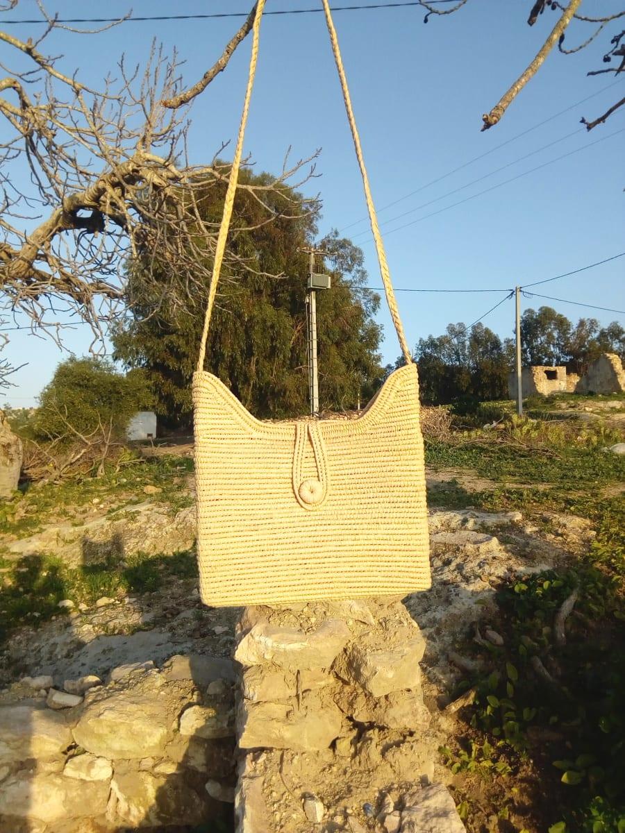 Keystone Basket  White Morocco