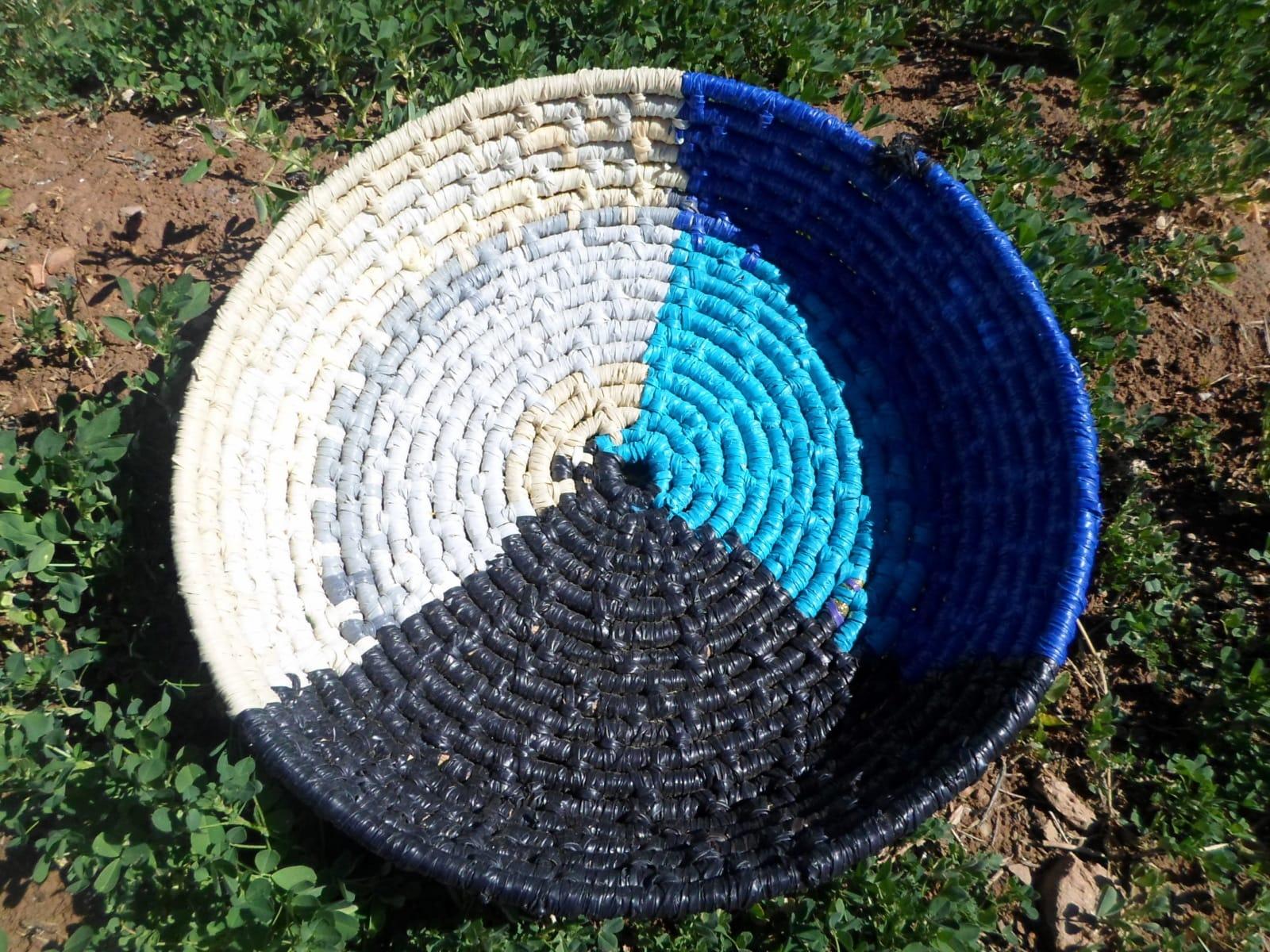 Basket  Colored Morocco