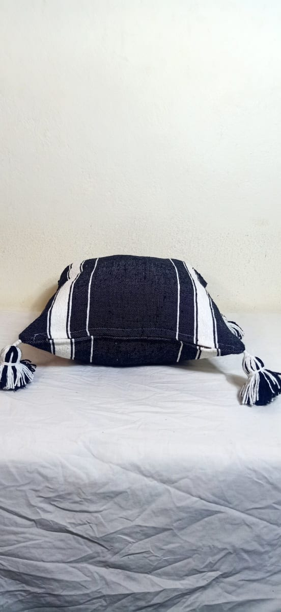 pillow  Black, White Morocco