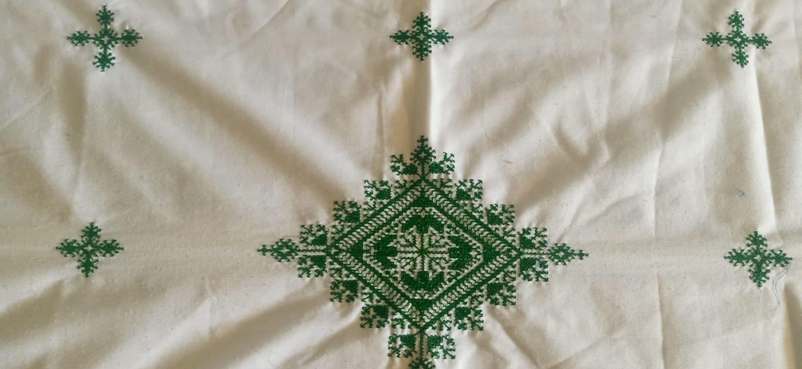 tawel  Green, White Morocco